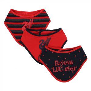 LFC Baby 3 Pack Dribbler Bibs