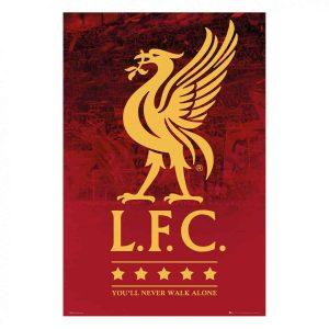 LFC Liverbird Poster