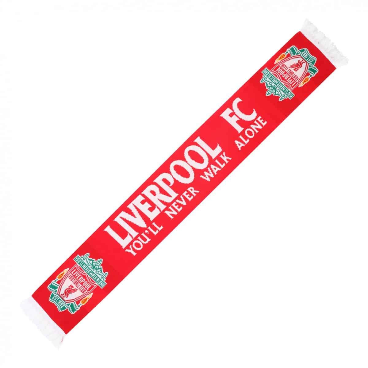LFC Red This Is Anfield Scarf