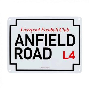 Anfield Road Sign
