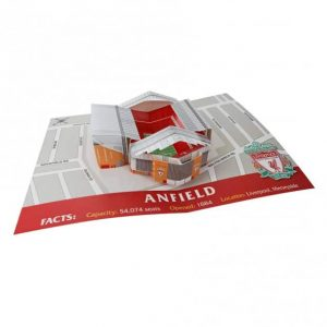 3D Anfield Birthday Card